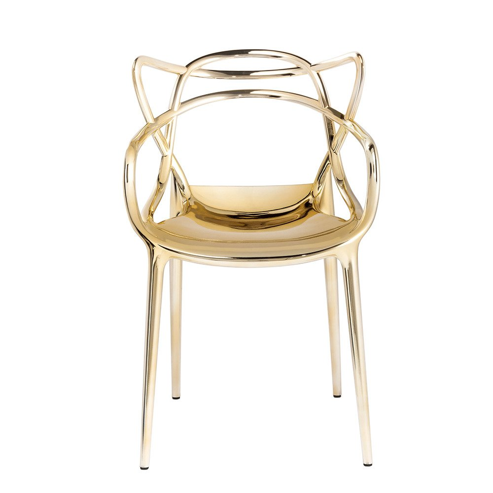 Kartell Стул MASTERS gold 57x84x47
