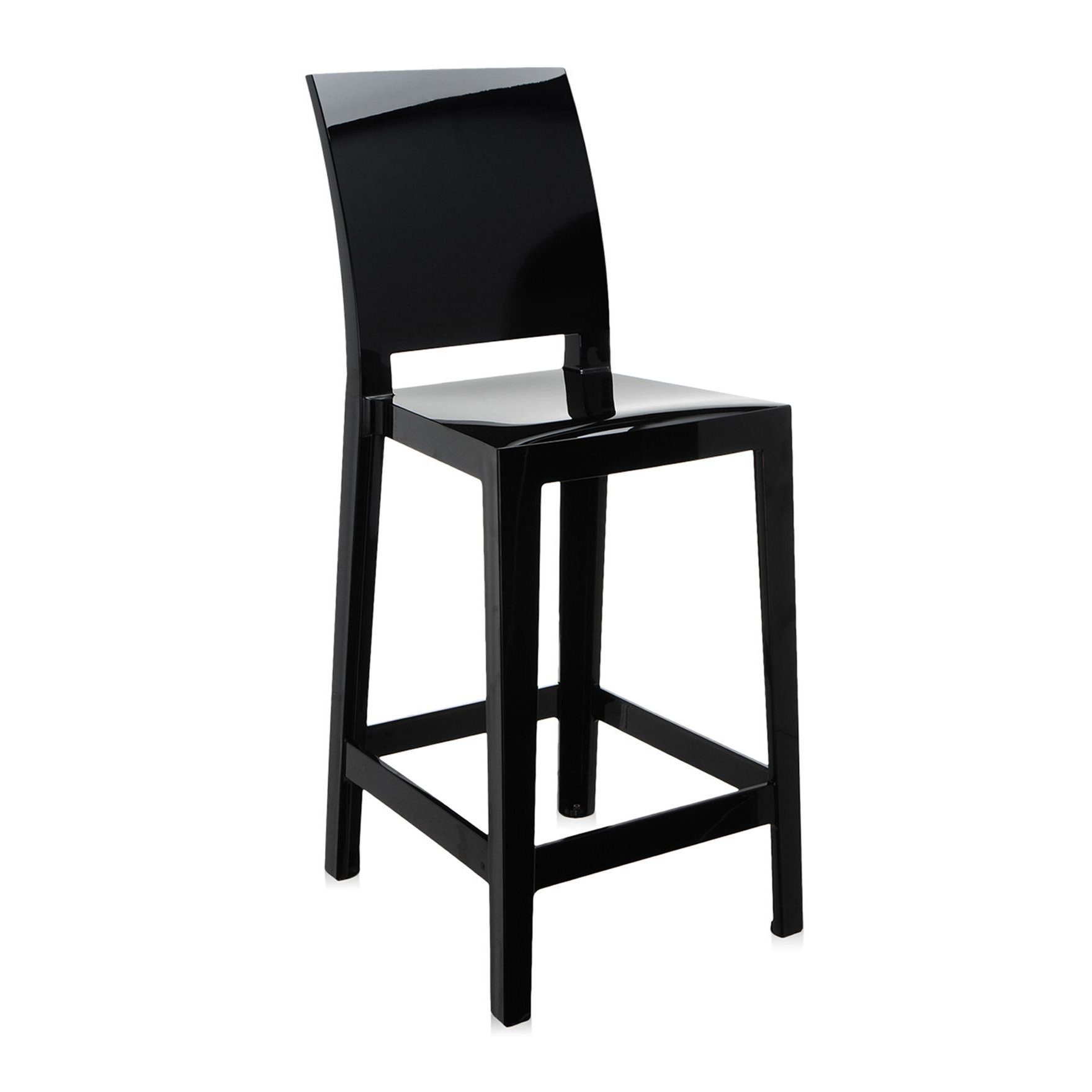 Kartell ���� ������ ONE MORE black 38x100x65